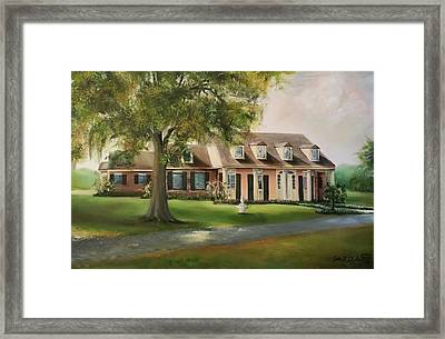 The Sunrise House Framed Print
