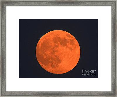The Super Moon Framed Print by Marcia Lee Jones