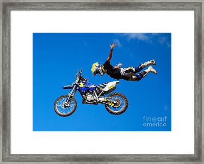 the Superman Framed Print