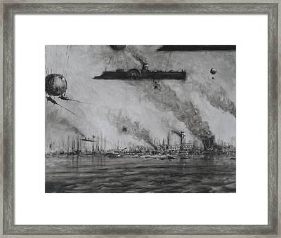The Suppression Of The 43rd Of May Framed Print by Steve Allender
