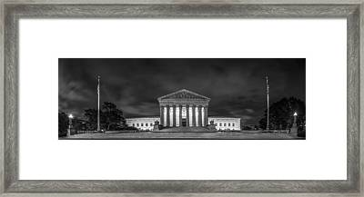 The Supreme Court Framed Print by David Morefield