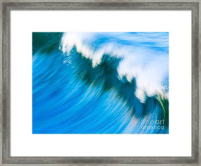 The Surge Framed Print by Paul Topp