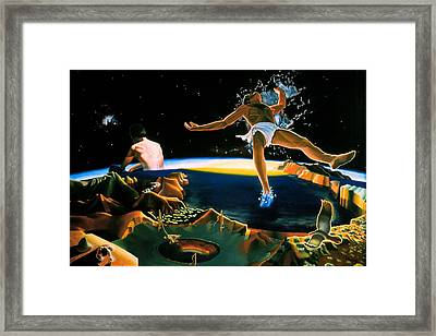 The Surreal Cosmologist Framed Print