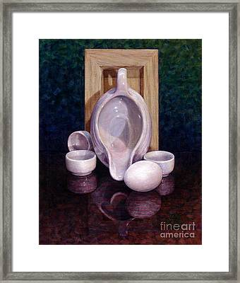 Framed Print featuring the painting The Surrogate by Jane Bucci