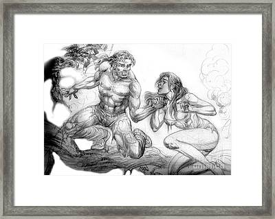 The Survivor Framed Print by Manuel Cadag