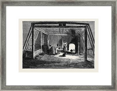The Survivors Of The Jeannette In Siberia Interior Framed Print