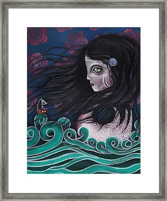 The Swan Framed Print