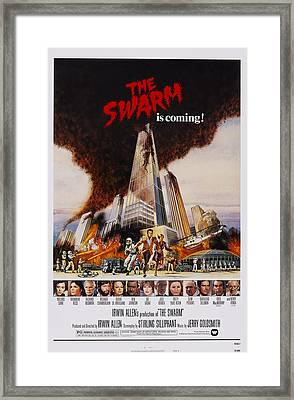 The Swarm, Top Michael Caine, Katharine Framed Print by Everett