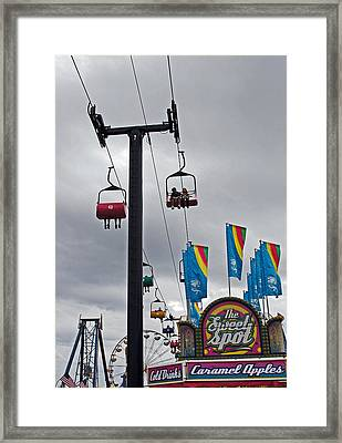 The Sweet Spot Framed Print by Skip Willits