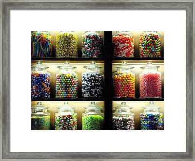 The Sweets Framed Print by Angela Davies