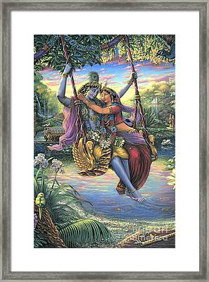 The Swing Pastime 2 Framed Print
