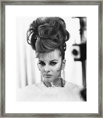 The Swinger, Ann-margret, 1966 Framed Print by Everett