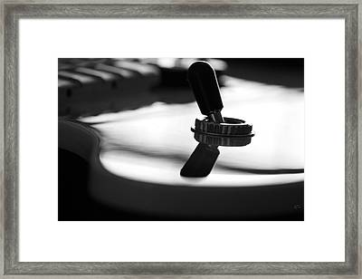 The Switch Framed Print by Karol Livote