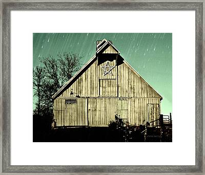 The Symbolic Star Framed Print by Chris Berry