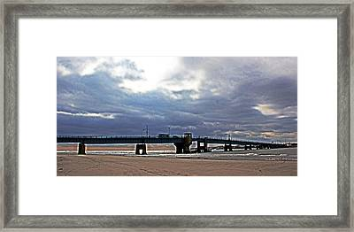 The T1 Bridge Framed Print by Tom Gari Gallery-Three-Photography