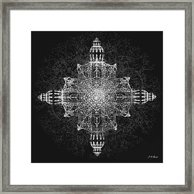 The Tabernacle In Black And White Framed Print by Michael Durst