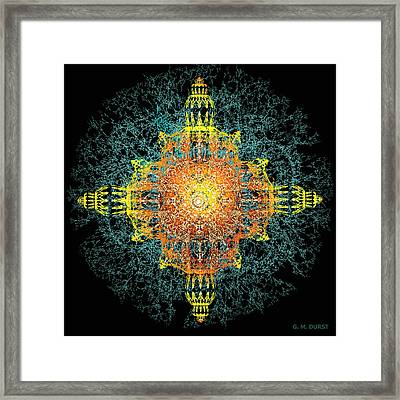 The Tabernacle Framed Print by Michael Durst