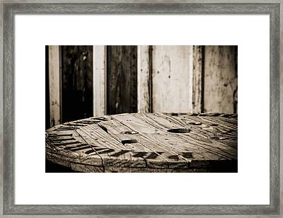 The Table Framed Print