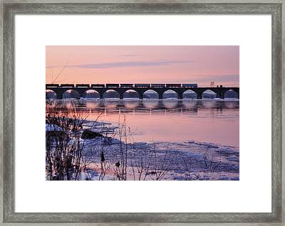 The Tail End Framed Print