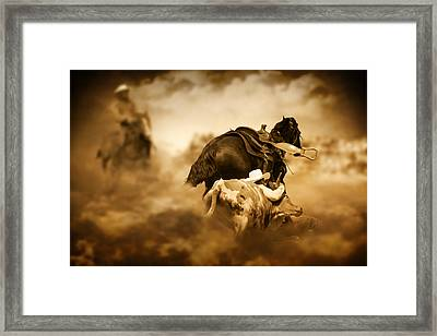 The Takedown Framed Print