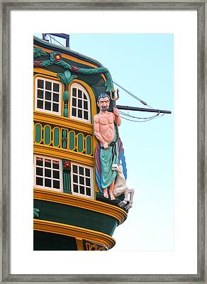 The Tall Clipper Ship Stad Amsterdam - Sailing Ship  - 01 Framed Print by Gregory Dyer