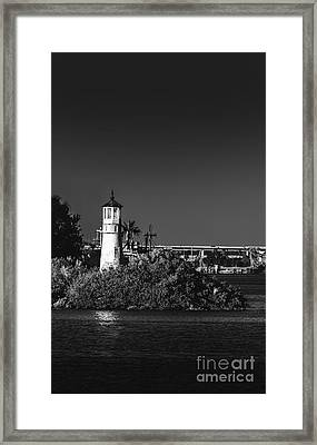 The Tampa Lighthouse Framed Print by Marvin Spates