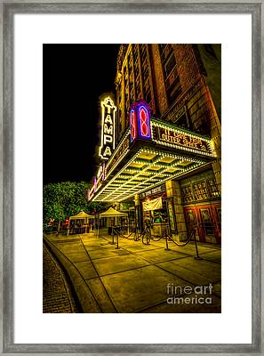 The Tampa Theater Framed Print by Marvin Spates