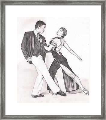 The Tango Framed Print by Beverly Marshall