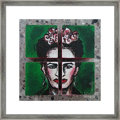 The Tantalizing Frida Kahlo Framed Print
