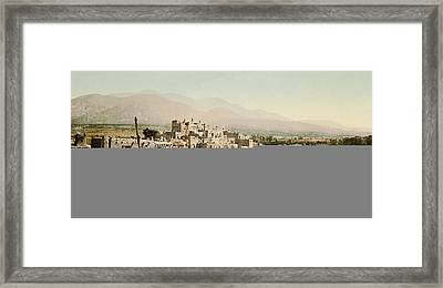 The Taos Pueblo Framed Print