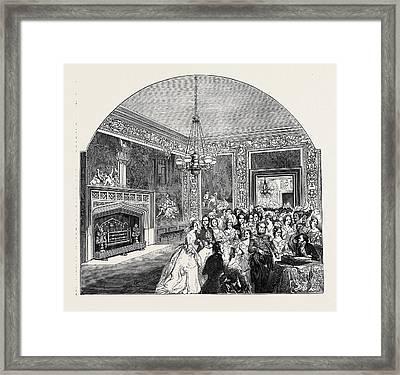 The Tapestry Chamber Framed Print
