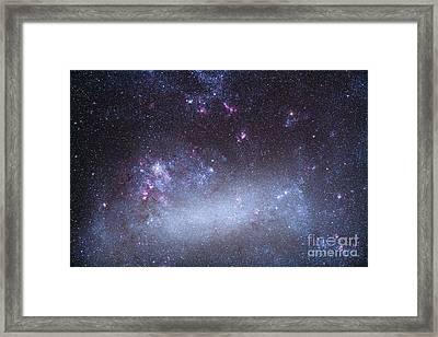 The Tarantula Nebula In The Large Framed Print
