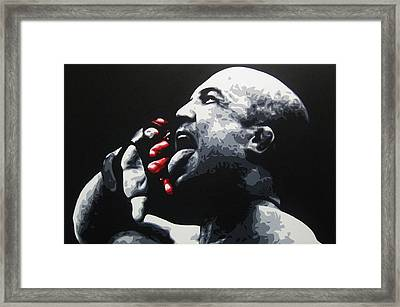 The Taste Of Blood Framed Print