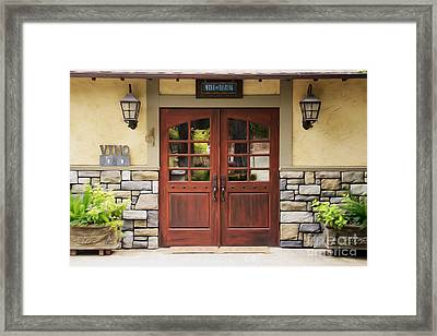 The Tasting Room Framed Print
