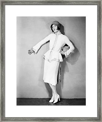 The Taxi Dancer, Joan Crawford Framed Print by Everett