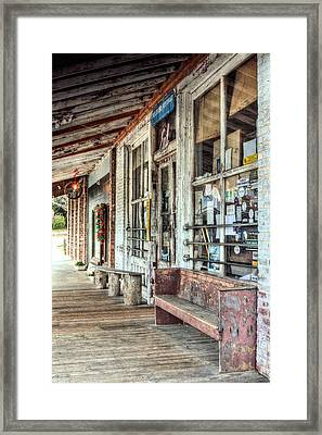 The Taylor Grocery Framed Print