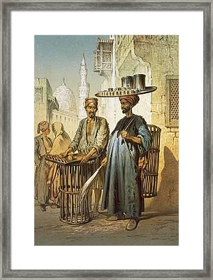 The Tea Seller Framed Print
