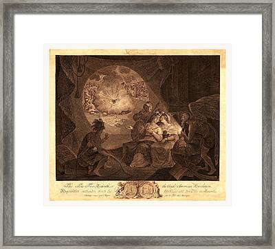 The Tea-tax-tempest, Or The Anglo-american Revolution Framed Print