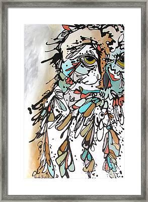 The Teacher Framed Print by Nicole Gaitan