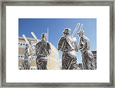 The Teammates Framed Print by Alice Gipson