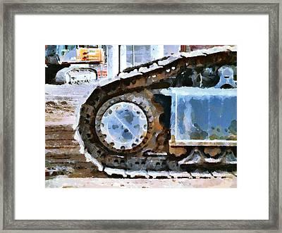 The Tears Of My Tracks Framed Print