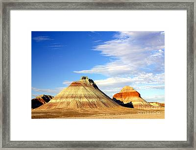 The Teepees Framed Print