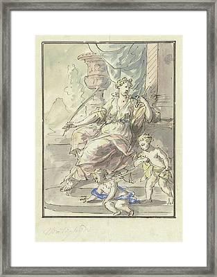 The Temperance, Elias Van Nijmegen Framed Print by Quint Lox