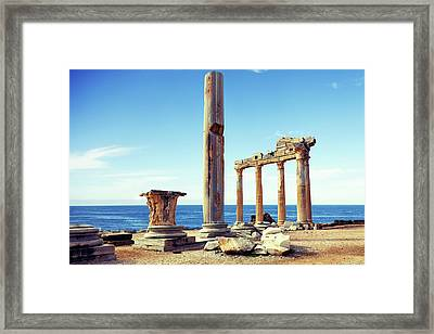 The Temple Of Apollo Framed Print by Wladimir Bulgar