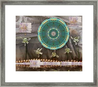 The Temple Of Mammon Framed Print
