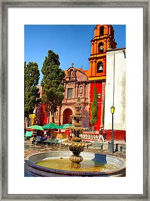 The Templo De San Francisco Framed Print