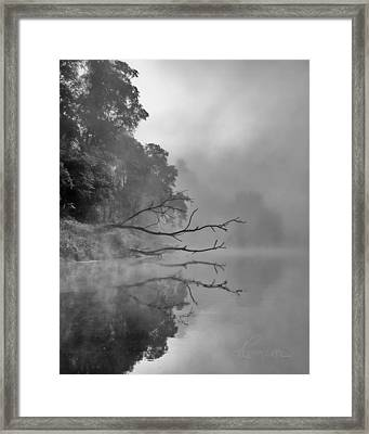The Temptation Framed Print by Tom Cameron