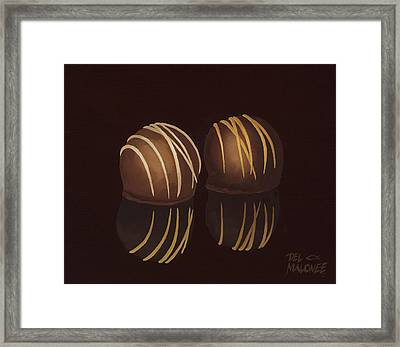 The Temptations Framed Print by Del Malonee
