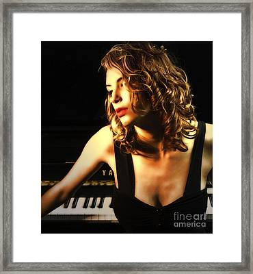 The Temptress  Framed Print