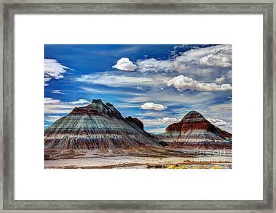 The Tepees Framed Print
